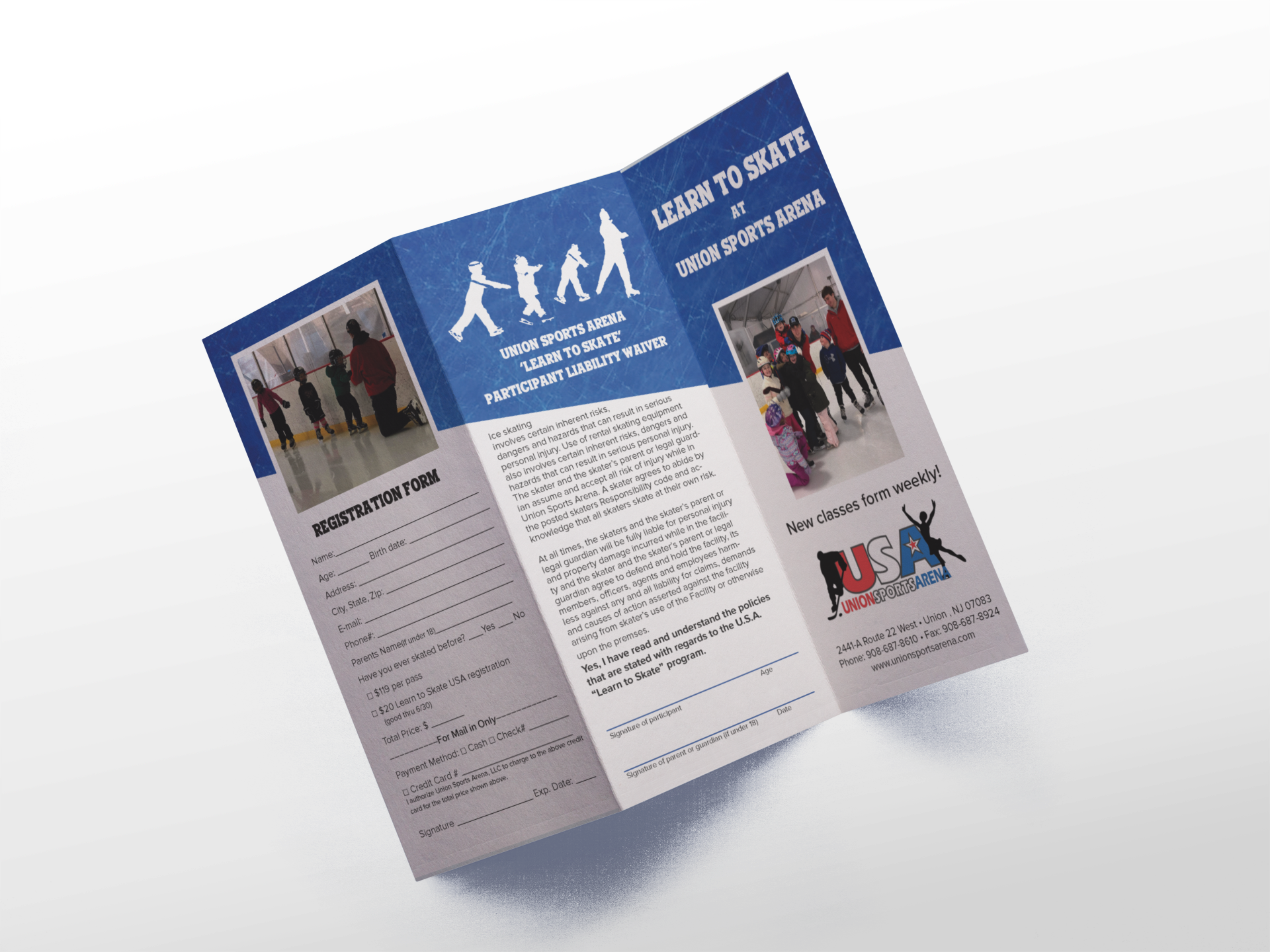 Learn to Skate Brochure