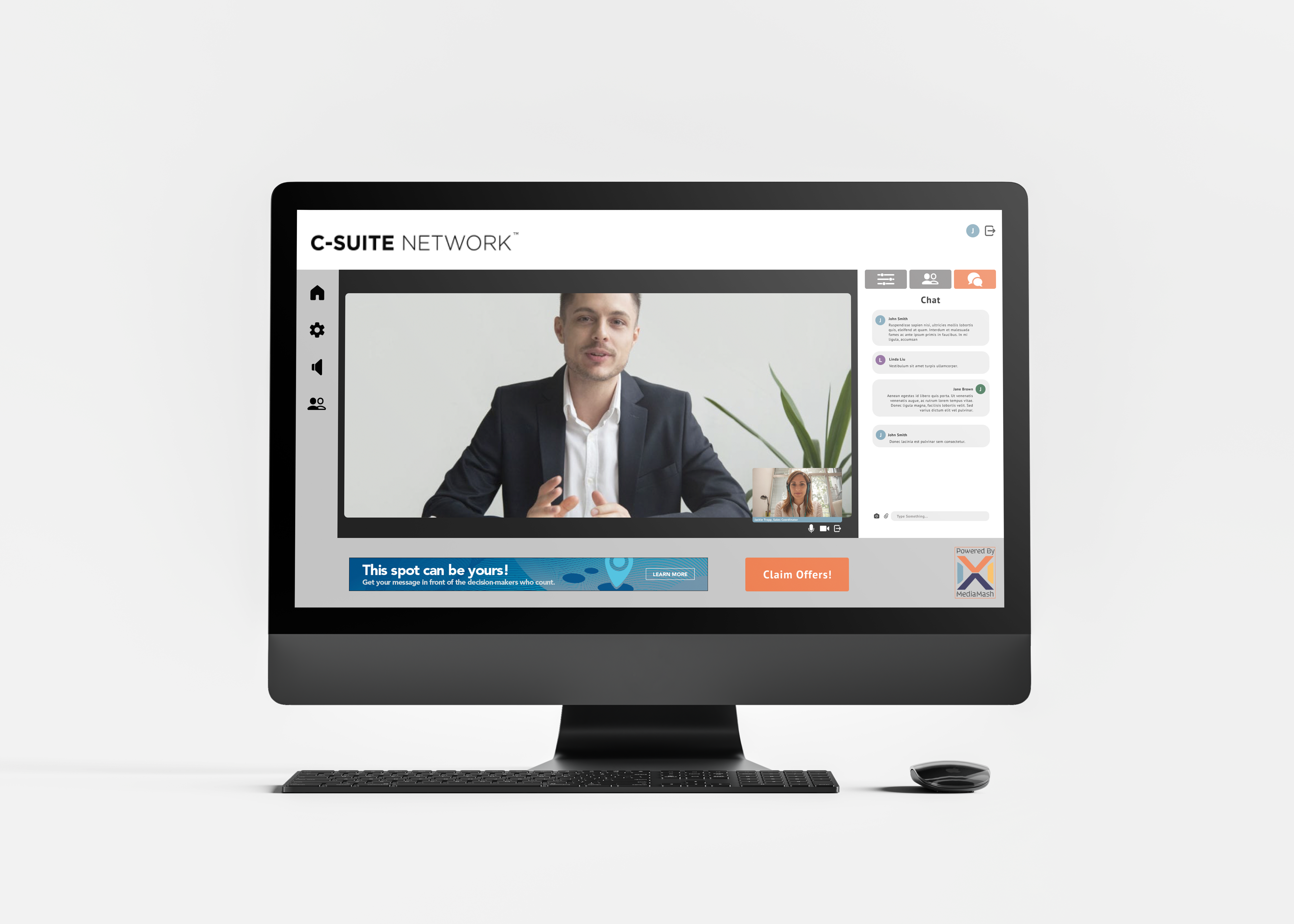 Video Conference Interface